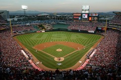 Angel Stadium of Anaheim in 2003