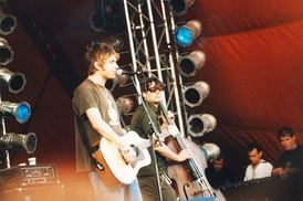 Blur at the Roskilde Festival, 1999