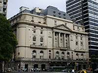 Headquarters of the National Bank of Argentina, the national bank and the largest in the country's banking sector.