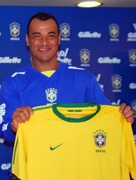 Cafu is the all-time most capped player for Brazil, with 142 caps