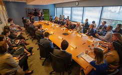 Gavin Newsom hosts a meeting for employers about public-private partnerships - 2019-11-13