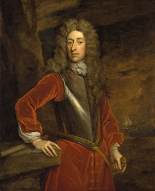 Admiral Sir George Byng. Oil on canvas by Sir Godfrey Kneller