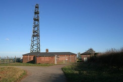 Grantham Radio Station, owned by NATS (En Route) Limited, for radio navigation for aircraft, and is situated in the north of Waltham near the Sproxton parish boundary