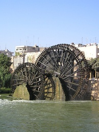 The norias of Hama on the Orontes River