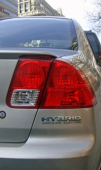 Hybrid badging used in the 2001–2005 generation