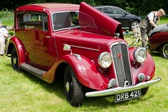 Humber Twelve Voguepillarless, 1937