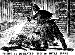 A victim of Jack the Ripper