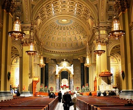 Cathedral Basilica of Saints Peter and Paul in Philadelphia