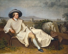Johann Wolfgang von Goethe described the philistine personality. (Goethe in the Roman Campagna, 1786, by J.H.W. Tischbein)