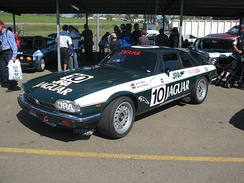 Replica of the Hahne/John Goss Jaguar XJ-S that won the 1985 James Hardie 1000