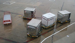 A number of LD-designation Unit Load Device containers