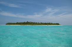 One of the uninhabited islands in Bangaram Atoll, Lakshadweep.