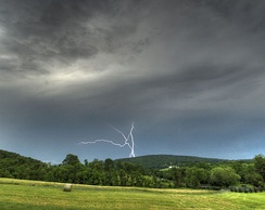Thunderstorms are a frequent concern in Virginia.