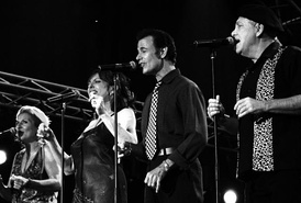 "The a cappella jazz group the Manhattan Transfer had a disco hit with the 1979 ""Twilight Zone/Twilight Tone"" theme."