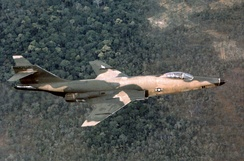 U.S. Air Force McDonnell RF-101C over Vietnam, 1967.