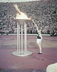 Paavo Nurmi and the Olympic Flame