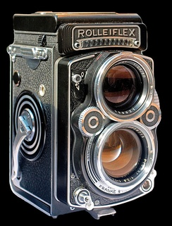 The classic Rolleiflex TLR