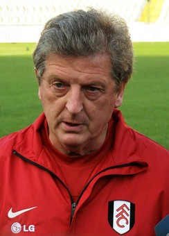 Roy Hodgson as manager at Fulham