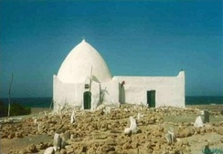 The tomb of Sheikh Isaaq, the founding father of the Isaaq clan, in Maydh, Sanaag.