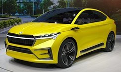 The fully electric Škoda Enyaq is planned to be produced from the second half of 2020 and six fully electric models are to be available by 2025.