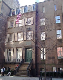 Roosevelt's birthplace at 28 East 20th Street in Manhattan, New York City