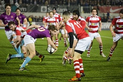 King's traditional rivalry with UCL is nowadays most noted at the yearly varsity rugby match