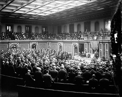 United States Congress meeting, c. 1915