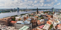 Downtown Riga
