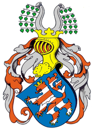 Arms of the landgraves of Thuringia (1265)