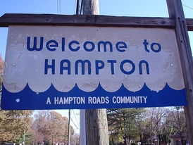 Hampton is a Hampton Roads community.