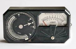 Weston Model 650 light meter from about 1935