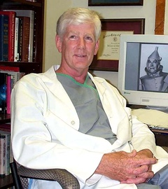 William DeVries, B.S. 1966, M.D. 1970, performed the first transplant of a Total Artificial Heart using the Jarvik-7 model