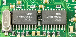 Two CMD CM8870CSI DTMF Receivers
