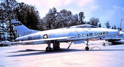 North American F-100C 53-1727 about 1965