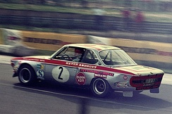 The BMW that Fitzpatrick co-drove to win the '72 Grosser Preis der Tourenwagen