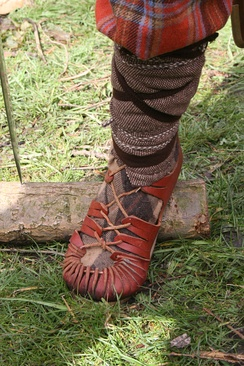 Footwear of Roman soldiers (reconstruction)