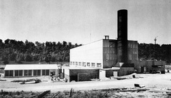 Aircraft Reactor Experiment building at ORNL. It was later retrofitted for the MSRE.