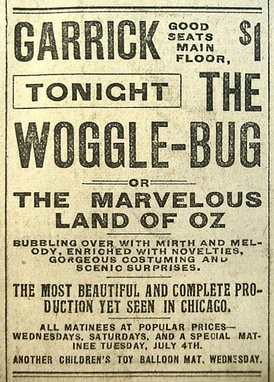 1905 advertisement in the Chicago Record Herald