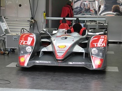 One of three Audi R10s at the 2007 24 Hours of Le Mans