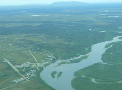 Koliganek and the Nushagak River