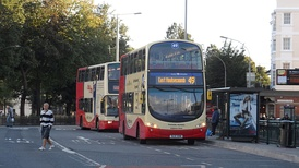 A Brighton & Hove bus service to East Moulsecoomb