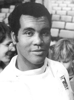 Cuban former boxer Teófilo Stevenson, widely considered one of the greatest boxers of all time