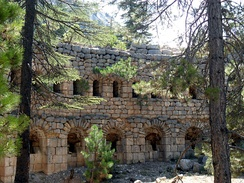 Casemates of İbrahim Pasha were built by Ibrahim Pasha of Egypt, who was rebelling against the Ottomans, in Mersin Province, Turkey.