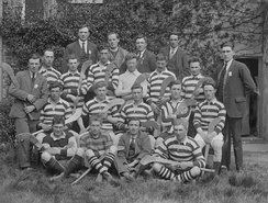 An early Clare hurling team
