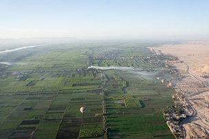Nile valley near Luxor.