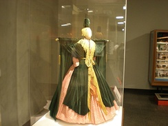 The curtain dress worn by Burnett in the Went with the Wind! sketch