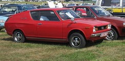 Datsun 120A Cherry coupé 1973 (European contemporary nomenclature)