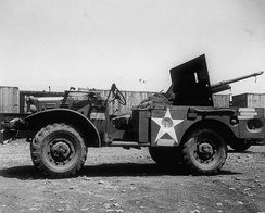 WC-55 Gun Motor Carriage