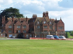 Embley Park in Hampshire, now a school, was one of the family homes of William Nightingale.