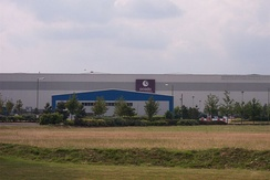 Ocado's warehouse in Hatfield